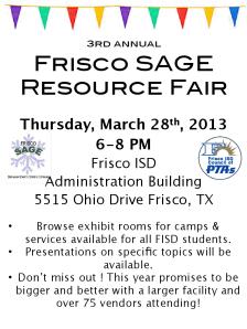 Resource Fair